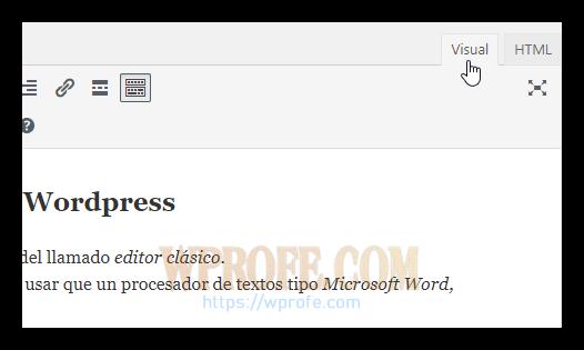 editorclasico-html-visual